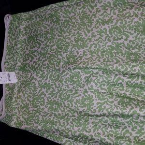 NWT J Crew Linen Skirt